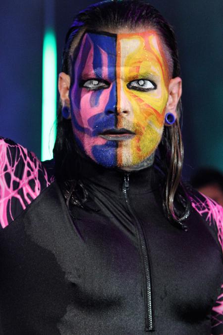 Wwe Face Paint Wrestlers Black Hair