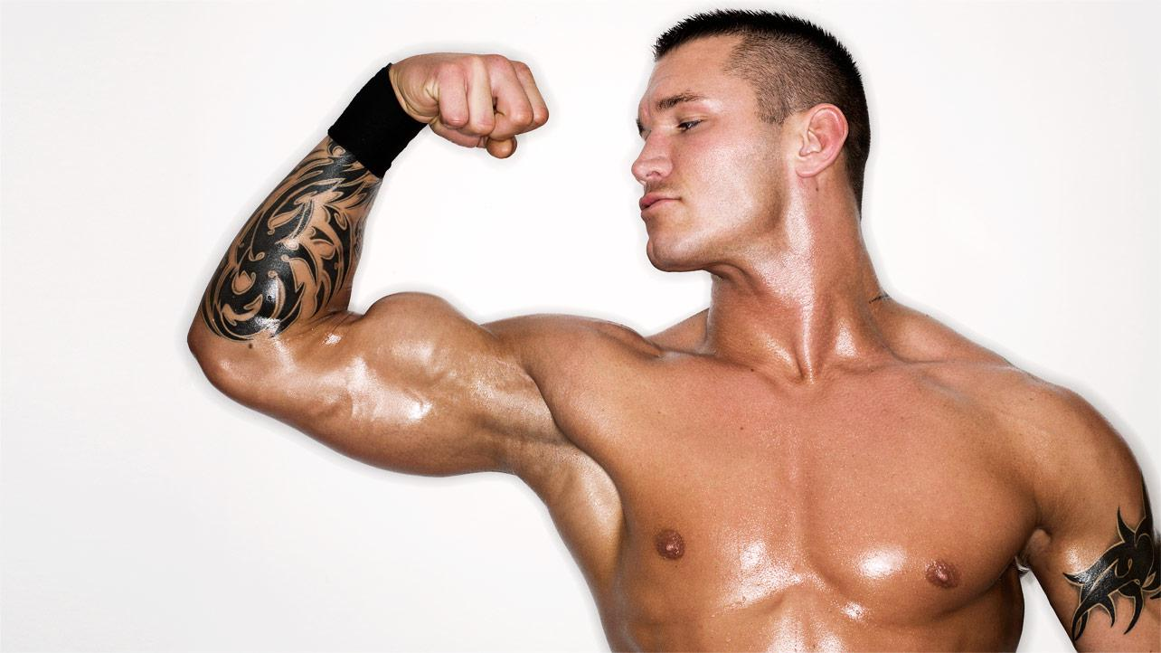 small face of randy orton